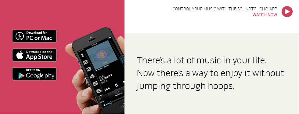 There's a lot of music in your life. Now there's a way to enjoy it without jumping through hoops.