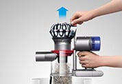 Dyson V8 New Hygenic Dirt Ejector
