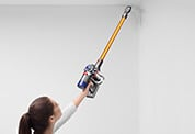 Dyson V8 Transforms to Clean Up High