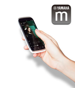 Yamaha Easy setup with your smartphone or tablet
