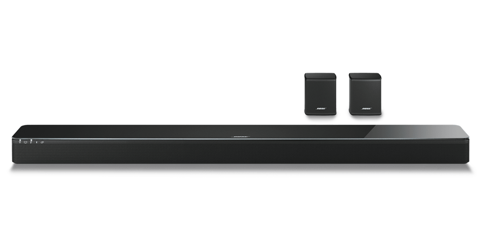 Bose SoundTouch 300 with Virtually Invisible 300 Rear Speakers