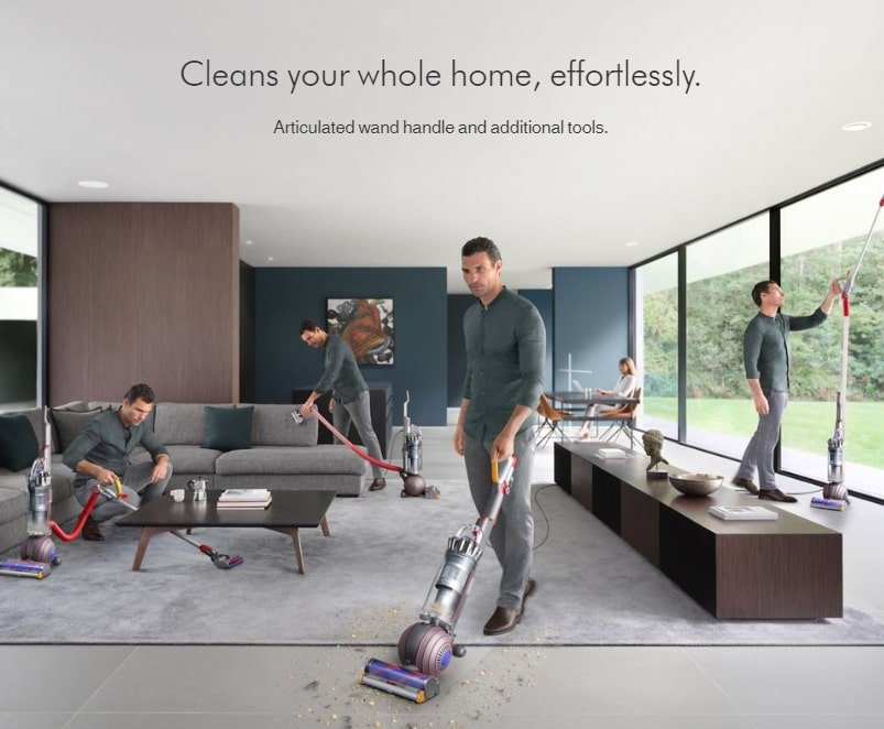 Dyson Cleans Your Home Effortlessly