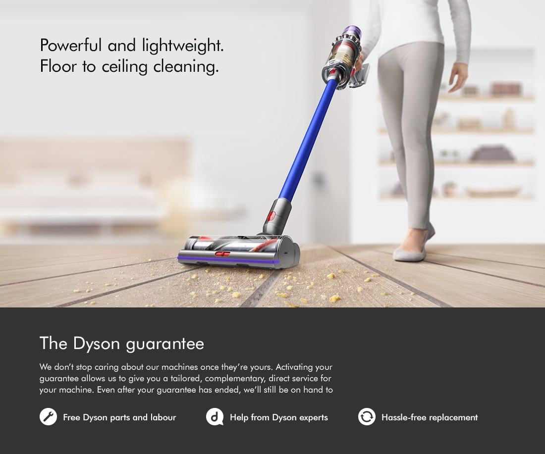 Dyson Cord-Free, Powerful and Lightweight