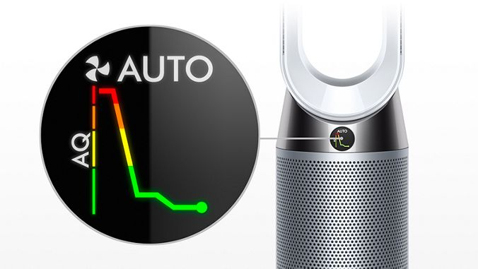 Dyson TP04 Senses pollutants in real time