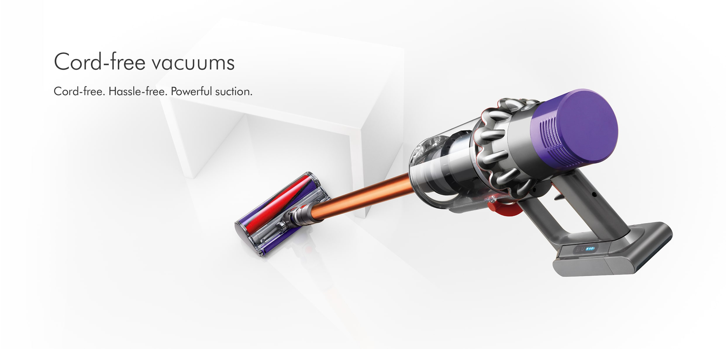 Dyson Cord-Free Vacuums at electricshop.com