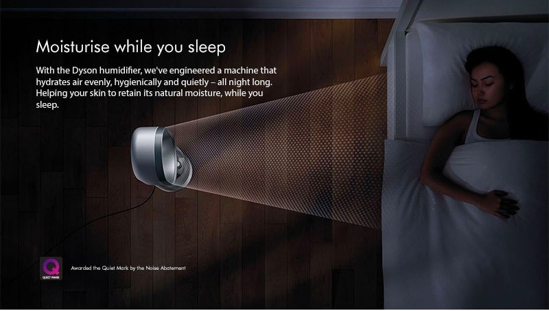 Dyson Moisturise while you sleep