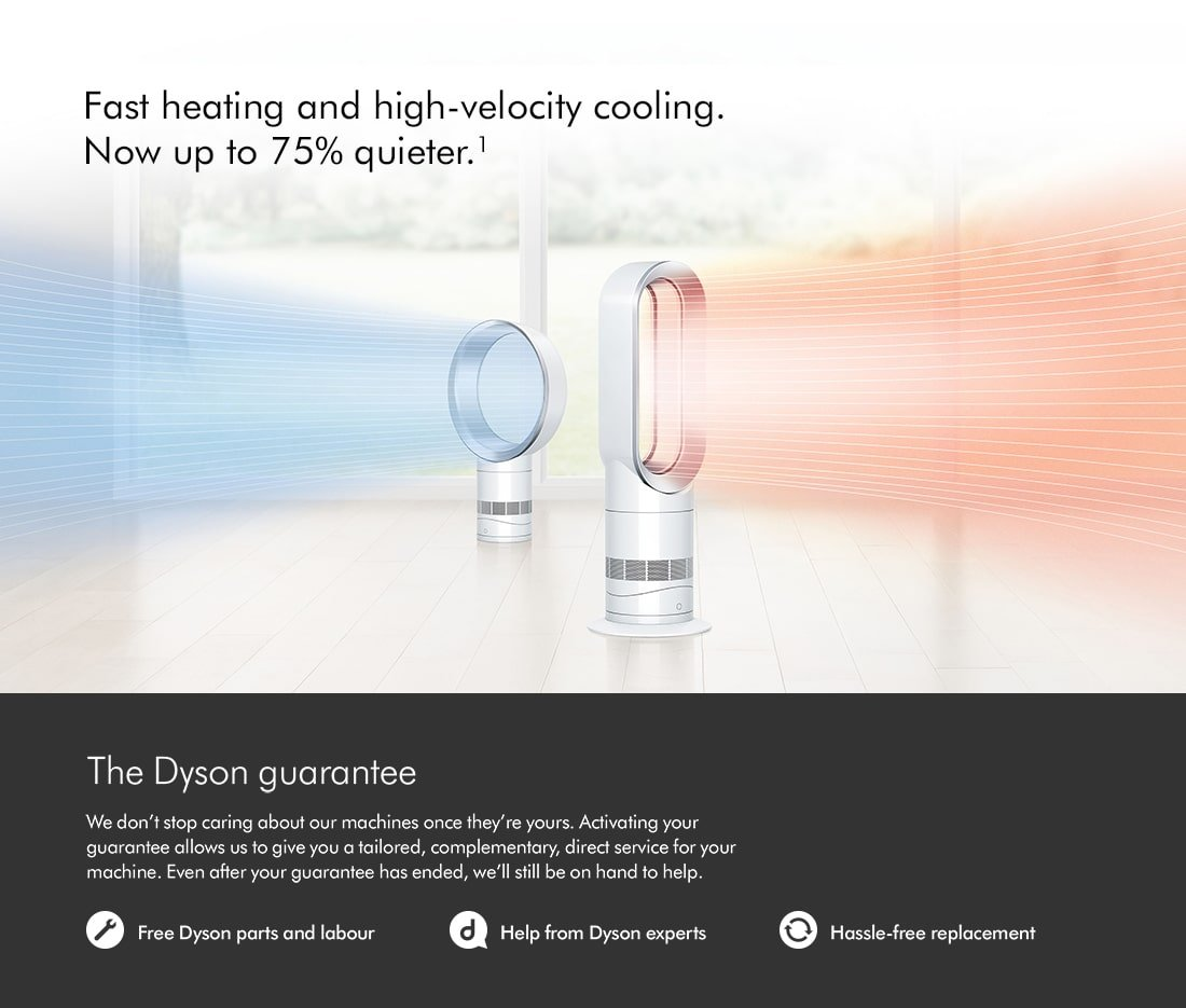 Dyson Fan and Heating Range at electricshop.com