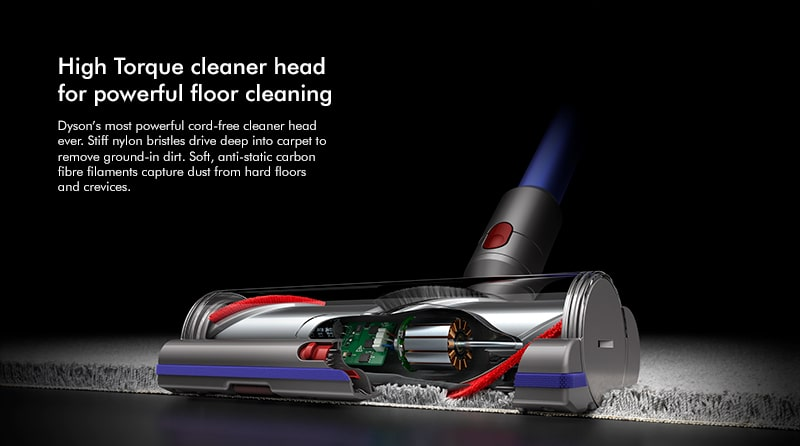 Dyson v11 Absolute Extra High torque cleaning