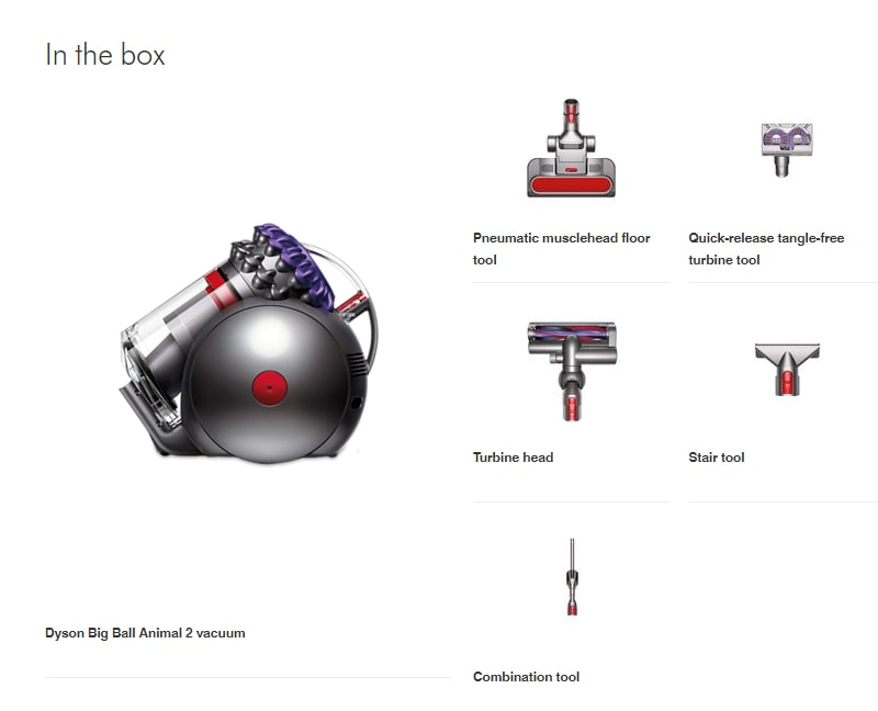 Dyson Big Ball Animal 2 In The Box