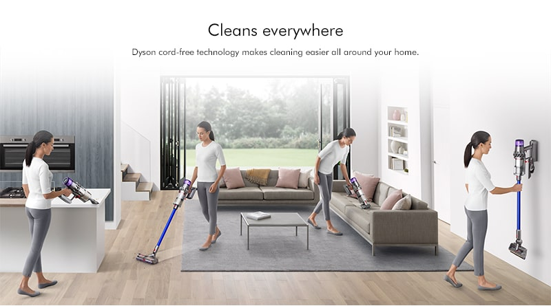 Dyson v11 absolute extra cleans everywhere