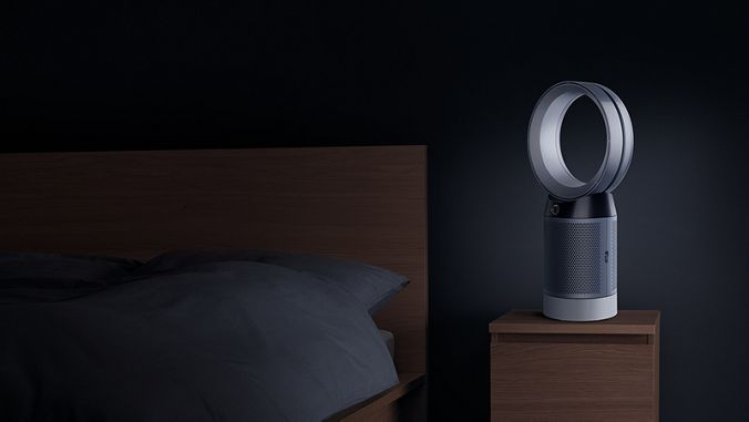 Dyson DP04 Night-time mode