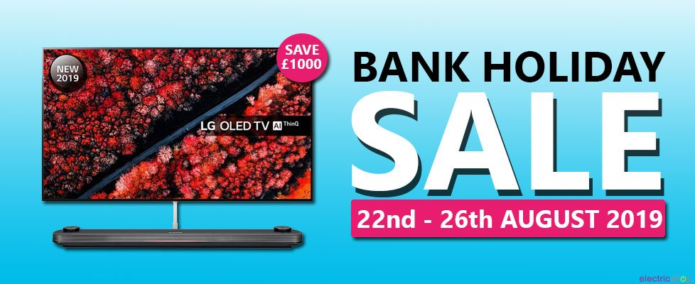 August Bank Holiday Weekend Sale