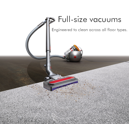 Dyson Full Size Vacuums at electricshop.com