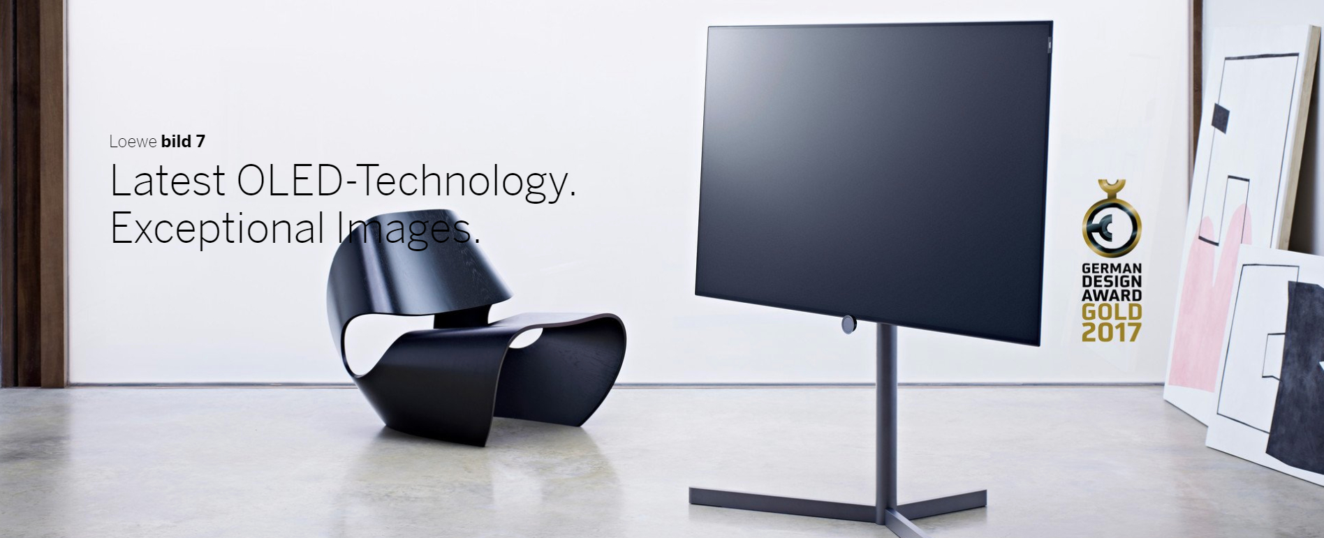 Loewe Bild 7 - Latest OLED Technology with exceptional images