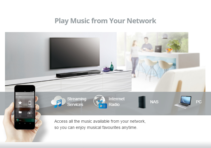 Yamaha MusicCast - Play music from your network