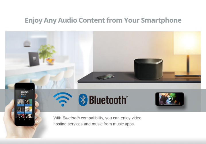 Yamaha MusicCast - Enjoy any audio content from your smartphone