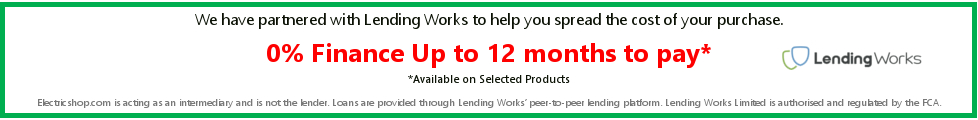 0% Finance with up to 12 months to pay