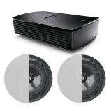 Bose® SoundTouch® SA-5 Amplifier with 2X Q Acoustics Q Install Qi65CP Performance In-Ceiling Speaker