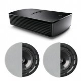 Bose® SoundTouch® SA-5 Amplifier with 2X Q Acoustics Q Install QI80CP Performance In-Ceiling Stereo Speaker