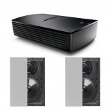 Bose® SoundTouch® SA-5 Amplifier with 2X Q Acoustics Q Install QI80RP In-Wall Speaker