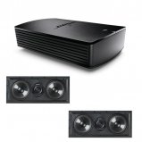 Bose® SoundTouch® SA-5 Amplifier with 2X Q Acoustics QI LCR 65RP In-Wall Speaker