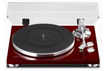 TEAC TN300 2 Speed Analog Turntable in Cherry