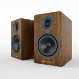 Acoustic Energy AE300 Real Walnut Wood Veneer Speakers