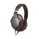 Audio Technica ATHMSR7B High Resolution Portable Headphones in Gunmetal back view