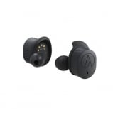 Audio Technica ATHSPORT7TW Wireless In-ear Headphones in Black Front View