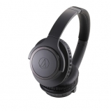 Audio Technica ATHSR30BT Wireless Headphones in Black Front View
