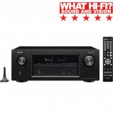 Denon AVRX3400H 7.2 channel AV Surround Receiver with WiFi and Heos