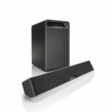 Acoustic Energy Aego Sound3ar Aluminium Black Sub-Soundbar Speakers