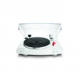 Audio Technica AT-LP3WH Advanced Fully Automatic Belt-Drive Stereo Turntable in White Open Box
