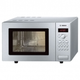 Bosch HMT75G451B Microwave Oven with Grill with 17 Litres Freestanding Brushed Steel