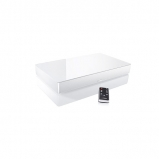 Canton DM60 2.1 Virtual Surround Sound Soundbase White Glass with Bluetooth