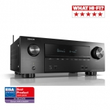 Denon AVRX2600H 7.2ch 4K Ultra HD AV Receiver with 3D Audio and HEOS Built-in Side View