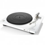 Denon DP450USB Hi-Fi Turntable with original S-Shape tonearm and USB White