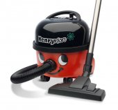 Numatic HVR200M-A2 Henry Micro Compact Bagged Cylinder Cleaner in Red and Black