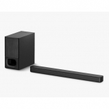 Sony HTSD35CEK Bluetooth 2.1 Sound Bar with Wireless Subwoofer Black - both