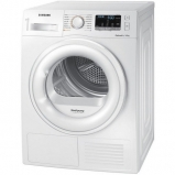 Samsung DV90M50001W 9kg Heat Pump Tumble - Dryer - White - profile