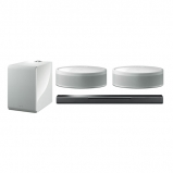 Yamaha MusicCast 5.1 Package with MusicCast Bar 40 Black 2 MusicCast 50 and Muscicast Sub 100 In White