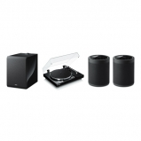 Yamaha MusicCast Vinyl 500 2.1 Package with 2 MusicCast 20 and Muscicast Sub 100 In Black