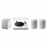 Yamaha MusicCast Vinyl 500 2.1 Package with 2 MusicCast 20 and Muscicast Sub 100 In White