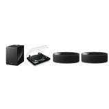 Yamaha MusicCast Vinyl 500 2.1 Package with 2 MusicCast 50 and Muscicast Sub 100 In Black
