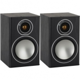 Monitor Audio Bronze 1 Bookshelf Speakers in Black Oak