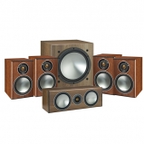 Monitor Audio Bronze 1 AV 5.1 Speaker package Walnut
