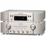 Marantz PM8006 HiFi Amplifier with ND8006 Network CD Player in Silver