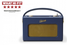 Roberts Revival iStream 3 Smart Radio in Midnight Blue