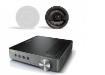 Yamaha WXA-50 Wireless Streaming Amplifier with Bose Virtually Invisible 791 Ceiling Speakers II