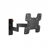 Vogels WALL 3145 Full Motion TV Wall Mount for 19 to 43 Inch TVs Black